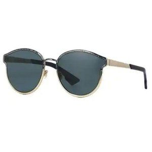 Dior Round Style Gray/Blue Lens
